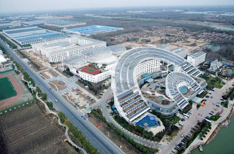 Esempio di progetto fotovoltaico in Cina