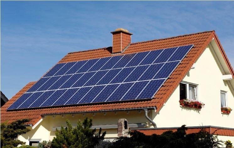 Impianto fotovoltaico connesso in rete