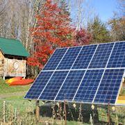 Impianto fotovoltaico fai da te in giardino