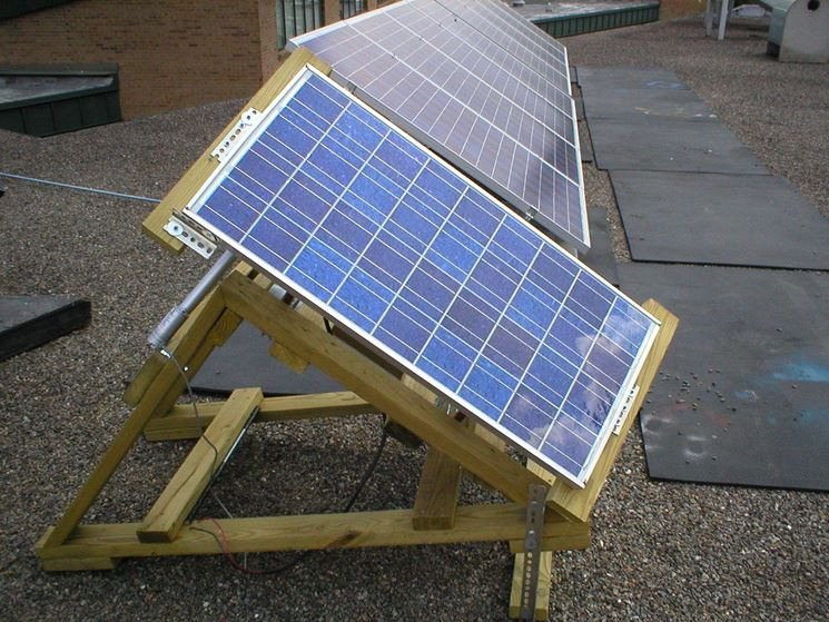 Pannello fotovoltaico fai da te in terrazza
