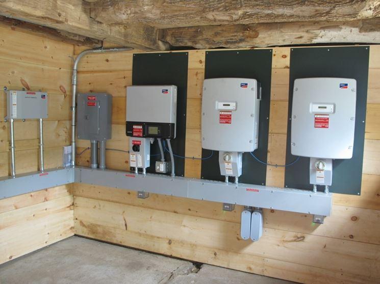 Inverter fotovoltaici installati