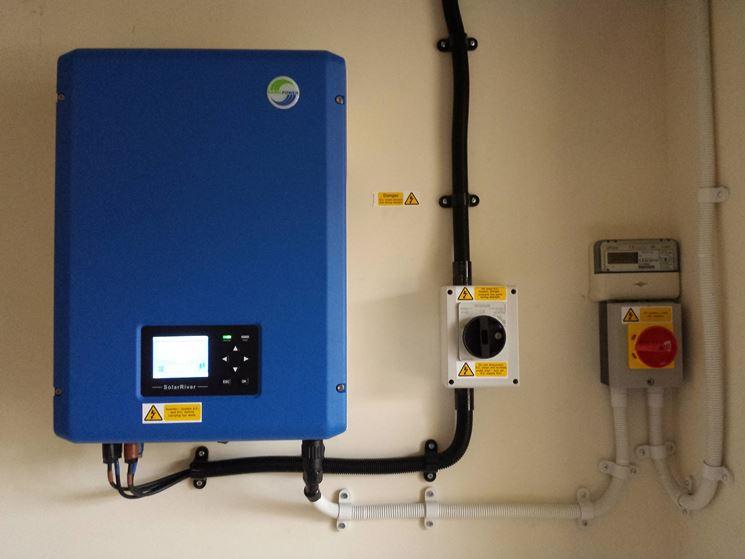 Installazione inverter fotovoltaico