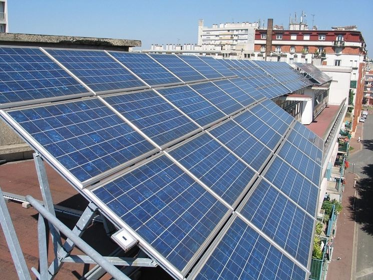 Modulo fotovoltaico monocristallino
