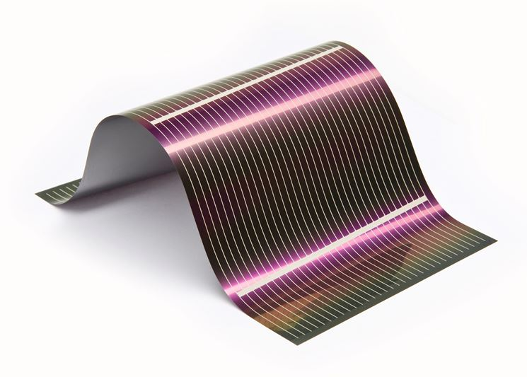 esempio Pellicola fotovoltaica