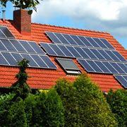 Moduli solari su abitazione