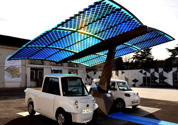 Copertura moduli fotovoltaici