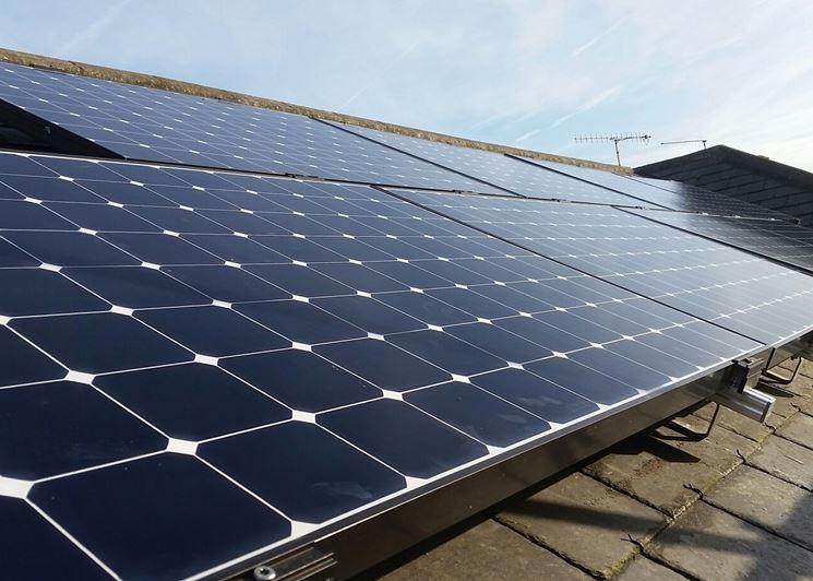 Pannelli fotovoltaici installati