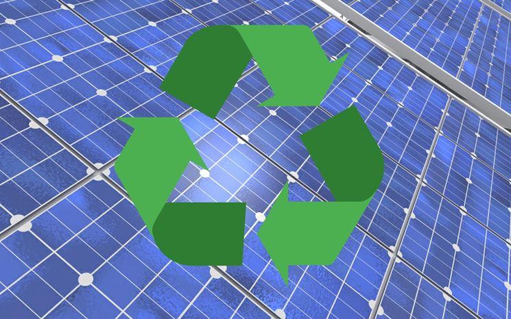 Riciclo dei pannelli fotovoltaici