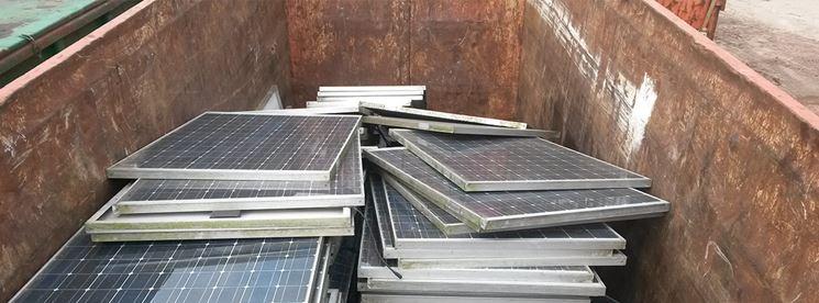 Cassone pannelli solari