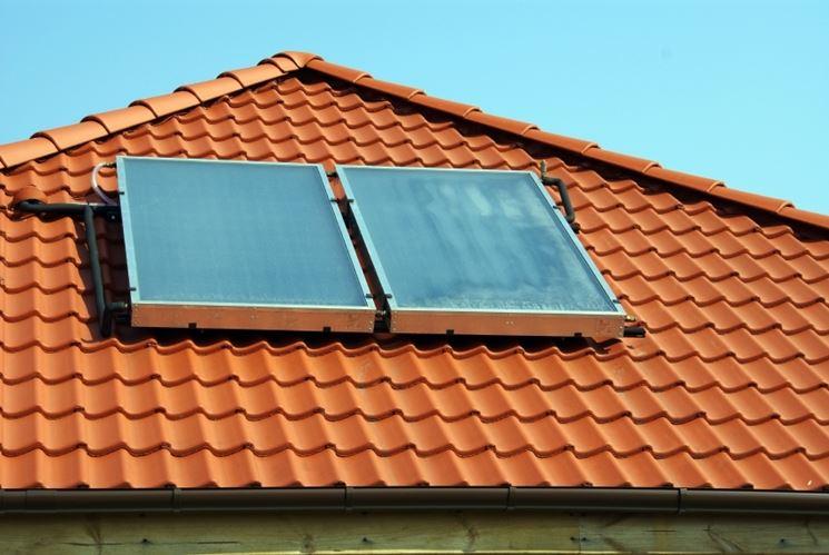 I pannelli solari termici vetrati