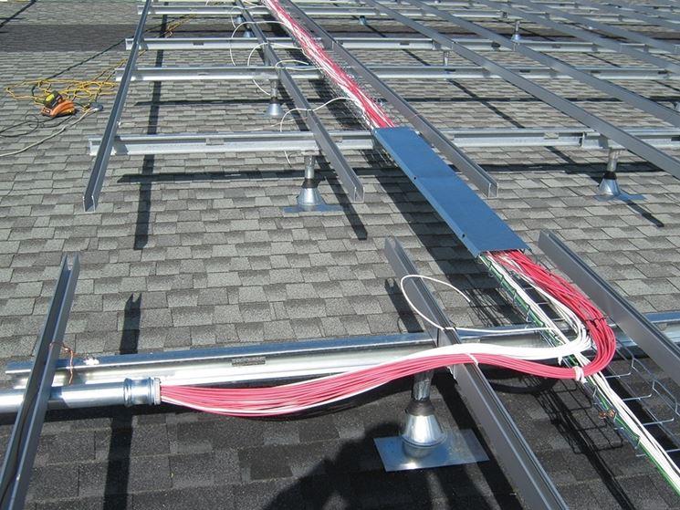 Cavi impianto fotovoltaico