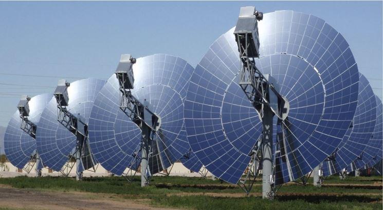 Pannelli solari circolari