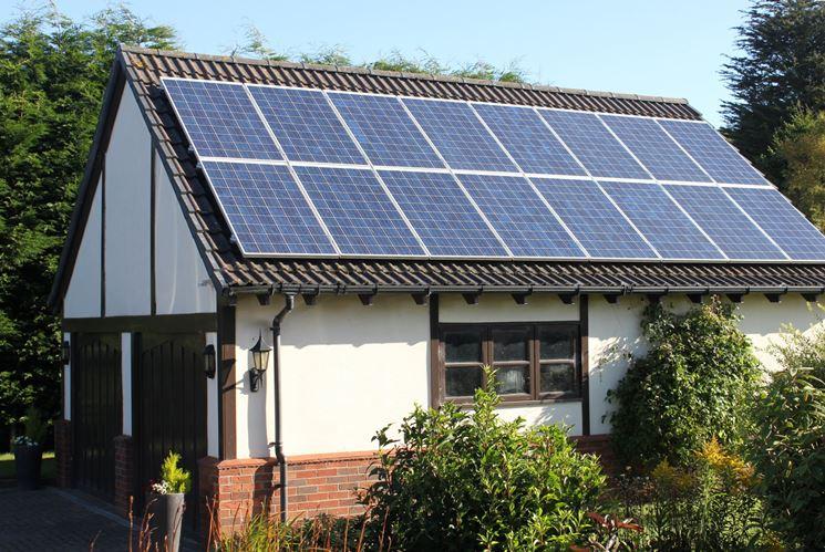 Impianto solare a tetto