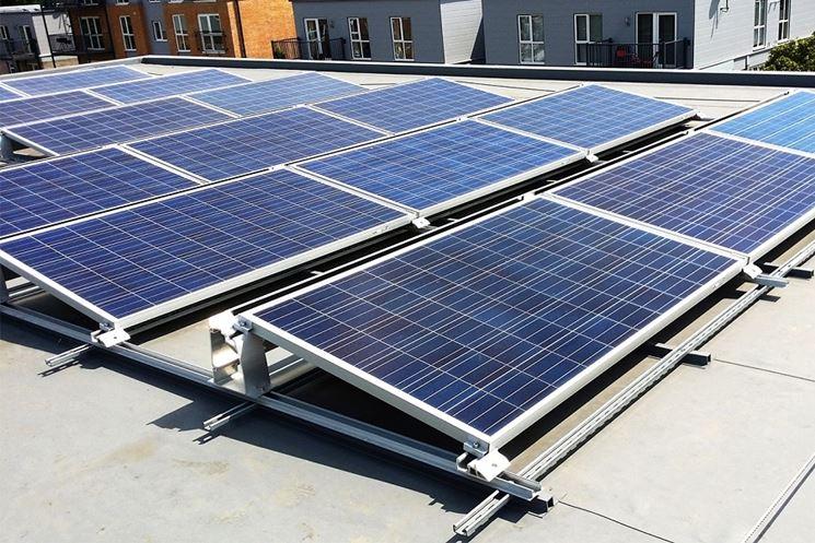Fotovoltaico tetto piatto