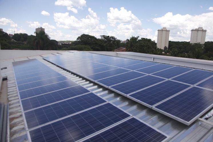 Esempio di fotovoltaico termico