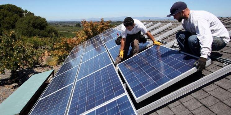 Installazione del fotovoltaico