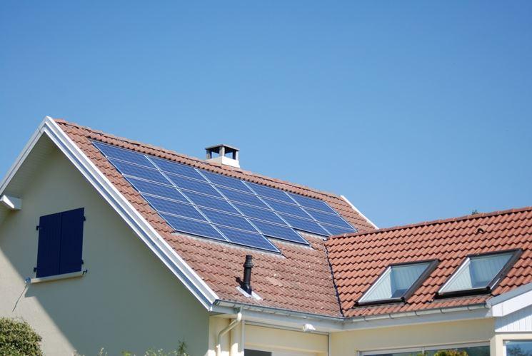 Impianto solare a pannelli