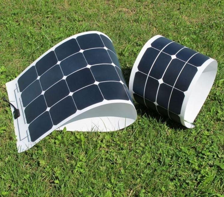 Piccoli pannelli fotovoltaici flessibili