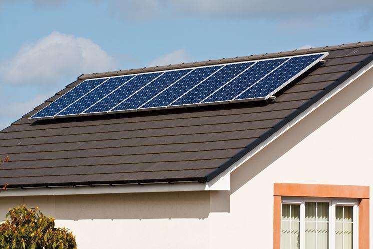 pannelli fotovoltaici su tetto