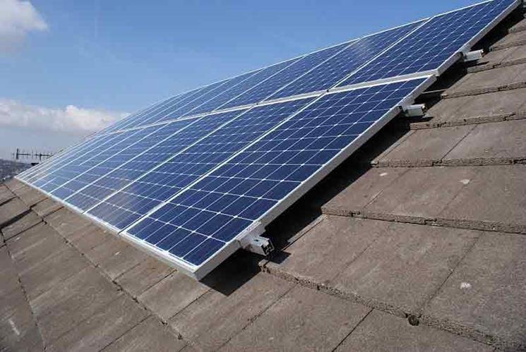 Moduli pannelli fotovoltaici