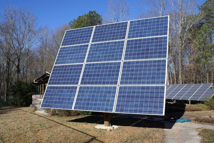 Impianto pannelli fotovoltaici