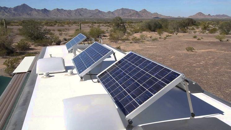 installare pannelli fotovoltaici su camper