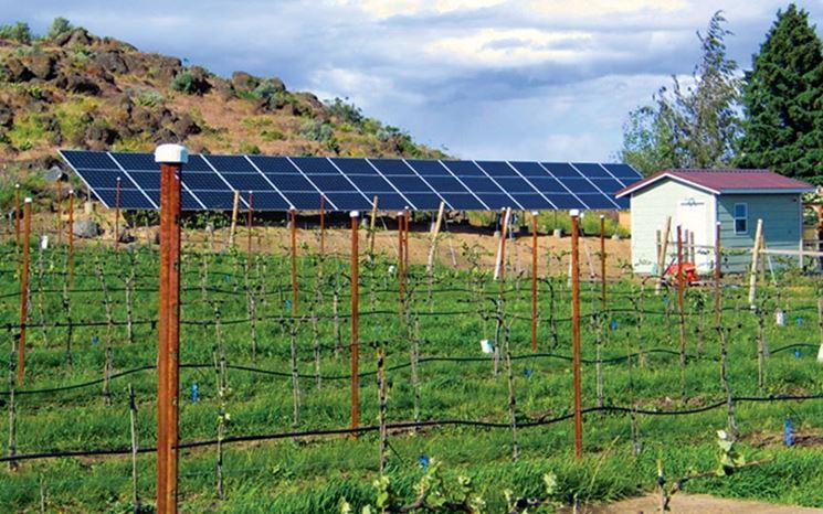 Impianto solare per agricoltura
