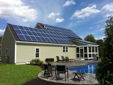 Impianto fotovoltaico su tetto