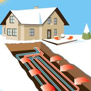 Impianto riscaldamento geotermico