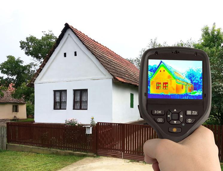 Misurazione IR con termocamera