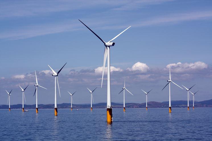 Impianto eolico in mare