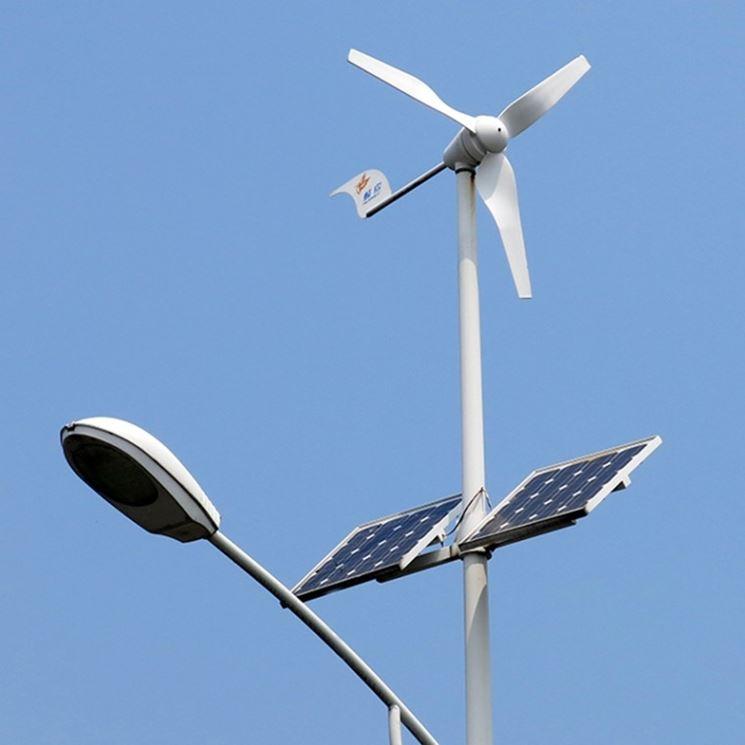 Generatore eolico montato su tetto