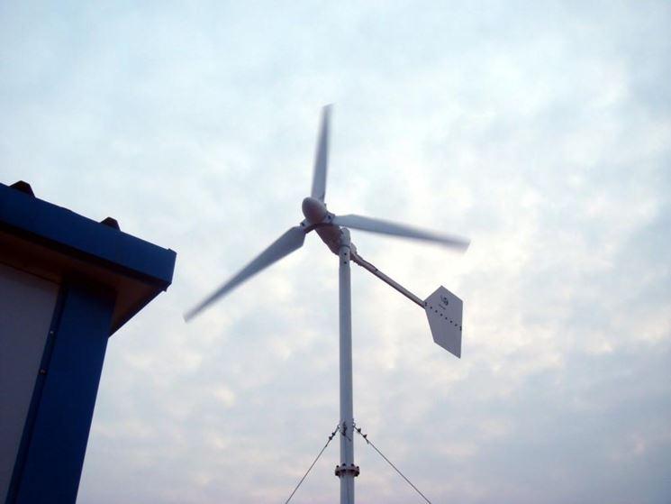sistema per mini eolico