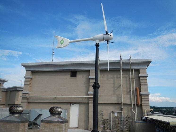 Turbina eolica domestica - Mini eolico - Turbina domestica tipo eolico