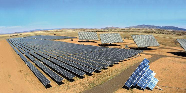 Fattoria solare in campagna