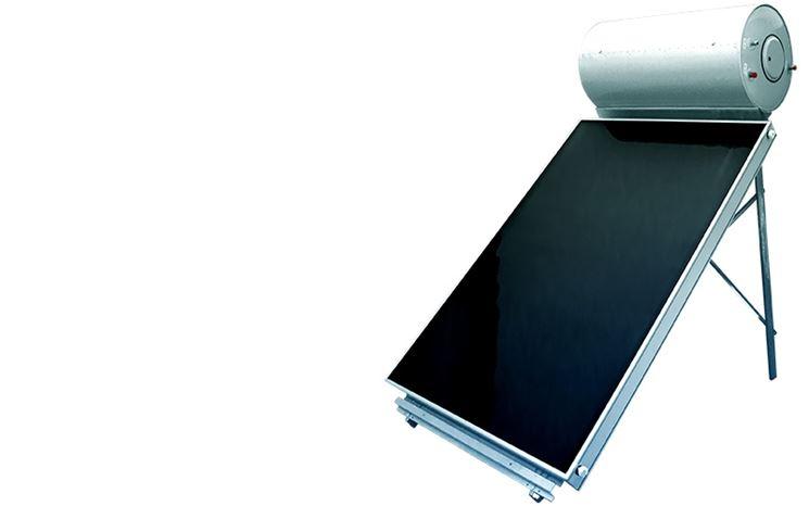 Pannello solare acqua calda con serbatoio integrato