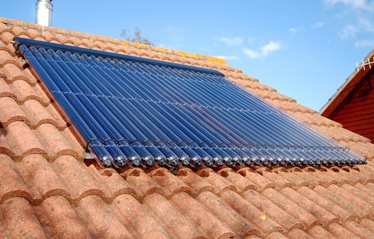 Incentivi per i pannelli solari termici