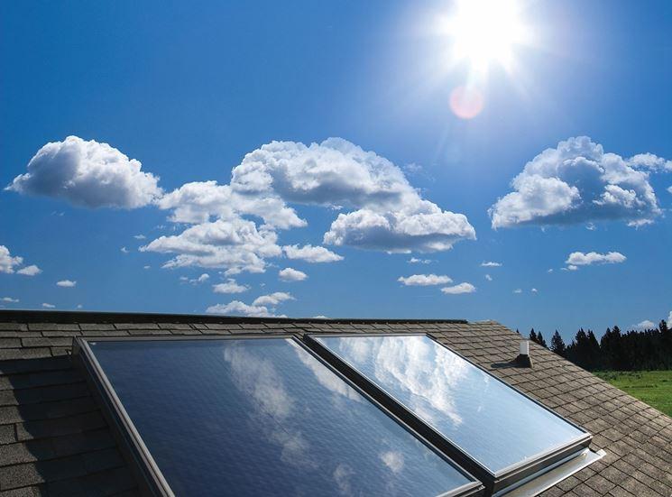 Detrazione del 65% per i pannelli solari termici
