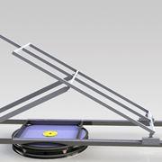 Sistema per inseguimento solare automatizzato.