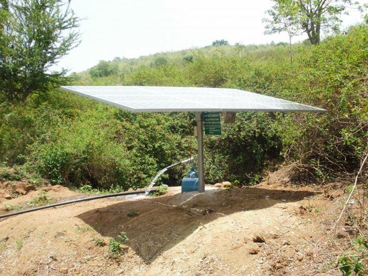 Dispositivo a puntatore solare fai date