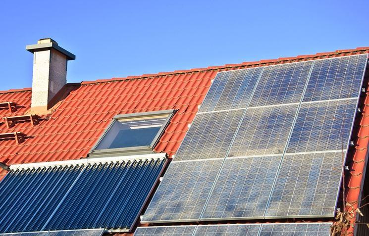 Solare termico più fotovoltaico