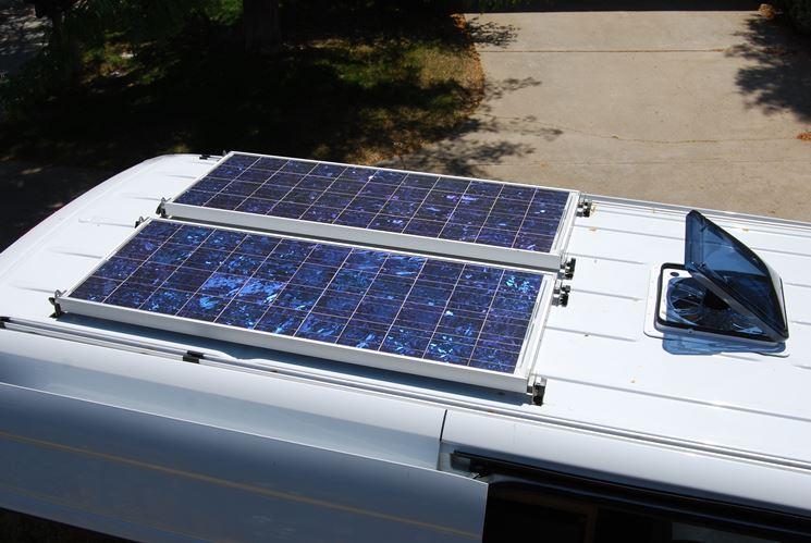 Generare energia eco con i pannelli solari per camper