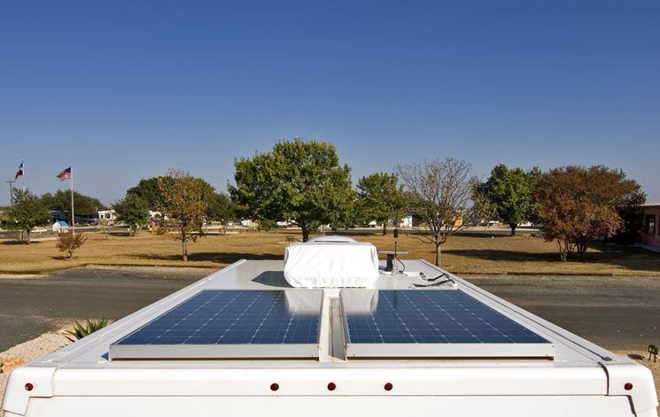 installazione pannelli solari su camper