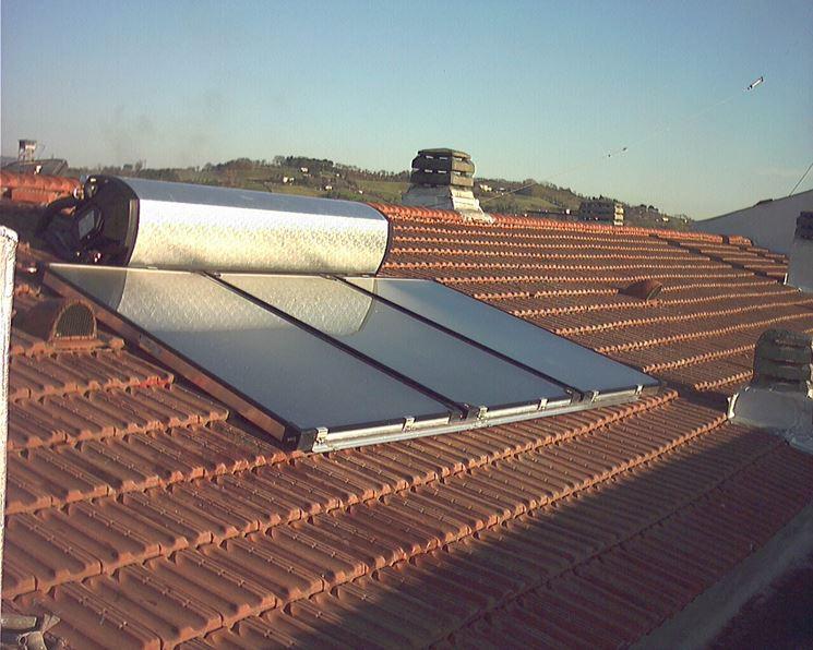 Pannello Solare Per Tetto Auto : Pannelli solari termici utilizzo dei