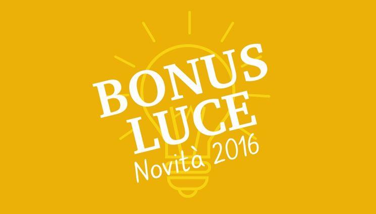 bonus elettricità 2016