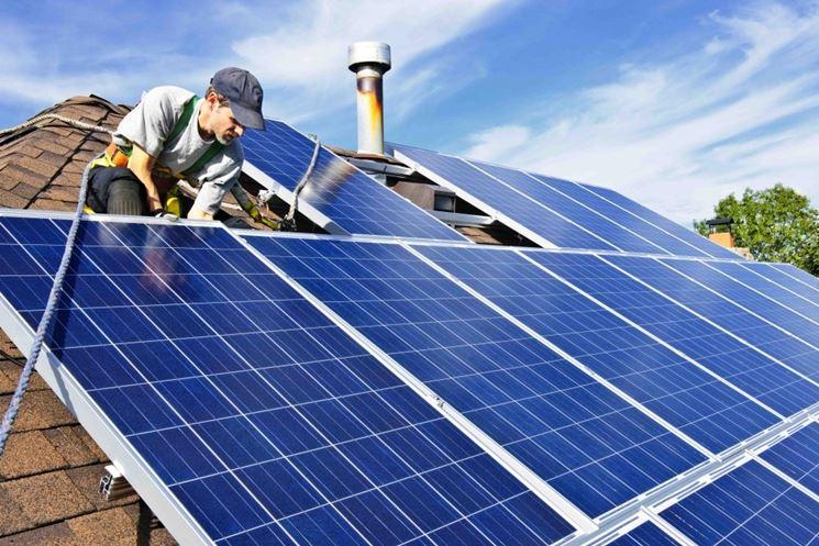 Installazione dell'impianto a risparmio energetico