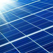 Serie di pannelli fotovoltaici