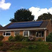 Impianto solare a risparmio energetico
