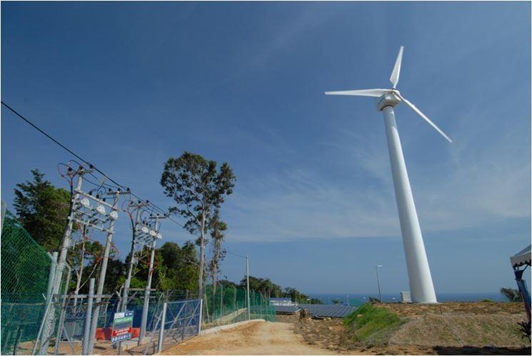 Pala eolica per produzione di elettricità