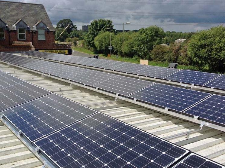 Pannelli fotovoltaici in azienda